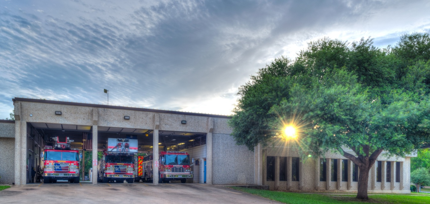 Brenham Texas Fire Station in HDR