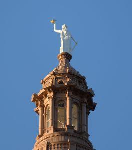Texas state capitol rotunda Austin