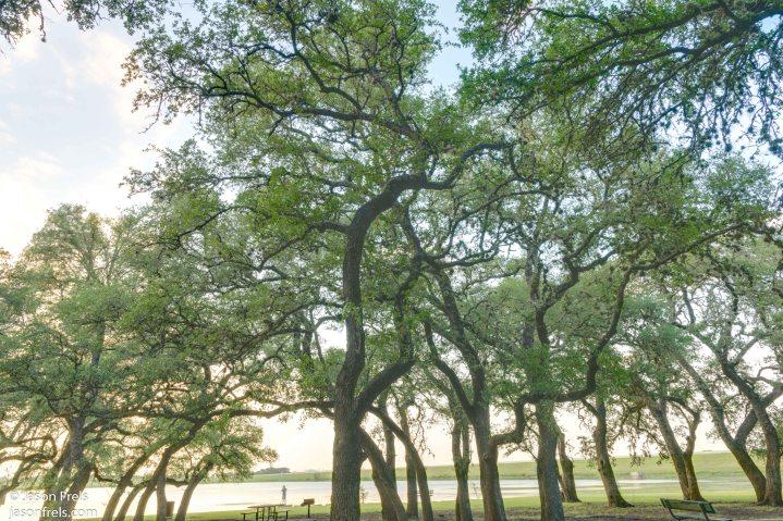 Devine Lake Park Leander Texas HDR