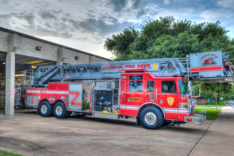 fire truck Brenham