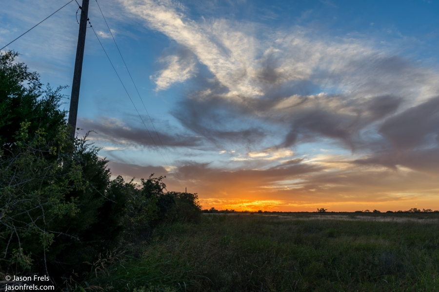 sunset hdr leander texas