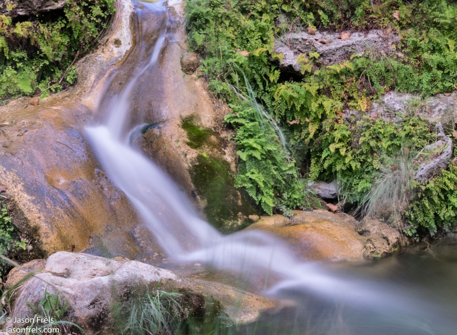Colorado Bend Texas waterfall