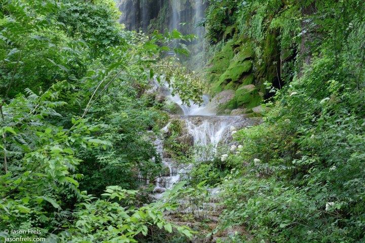 Gorman Falls at Colorado Bend State Park