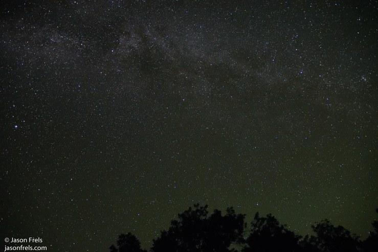 Colorado Bend State Park Night Sky