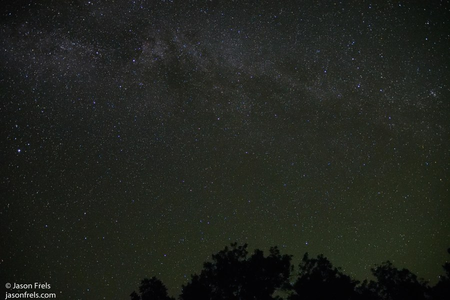 Colorado Bend State Park Night Sky