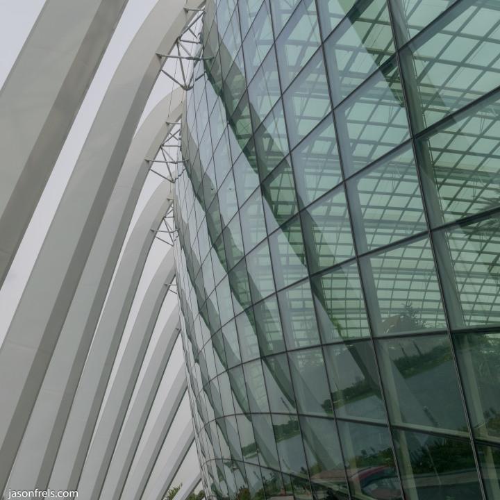 Singapore Flower Dome Architecture