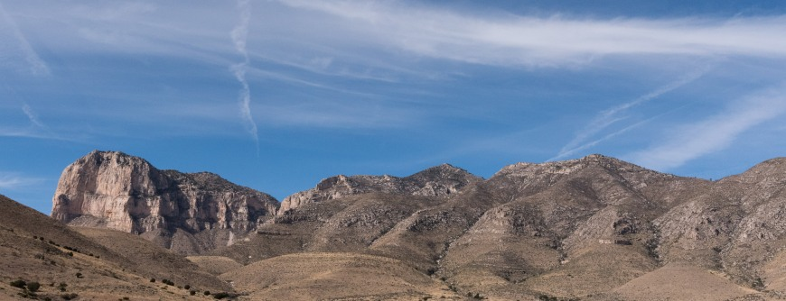 Guadalupe Mountains in Texas