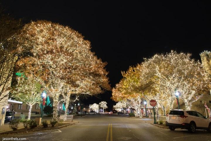 Georgetown Texas Christmas lights