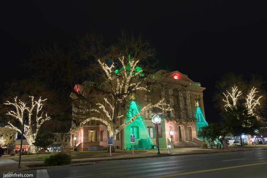 Georgetown Courthouse Christmas Lights