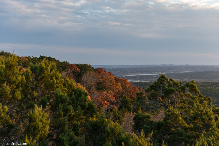 Balcones Canyonland NWR Texas fall color