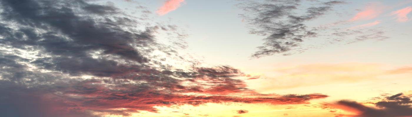 Balcones Canyonlands NWR Sunset HDR