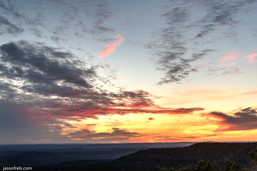 Balcones-Canyonlands-Sunset-HDR-2