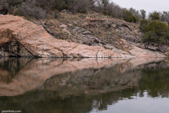 Inks Lake reflections
