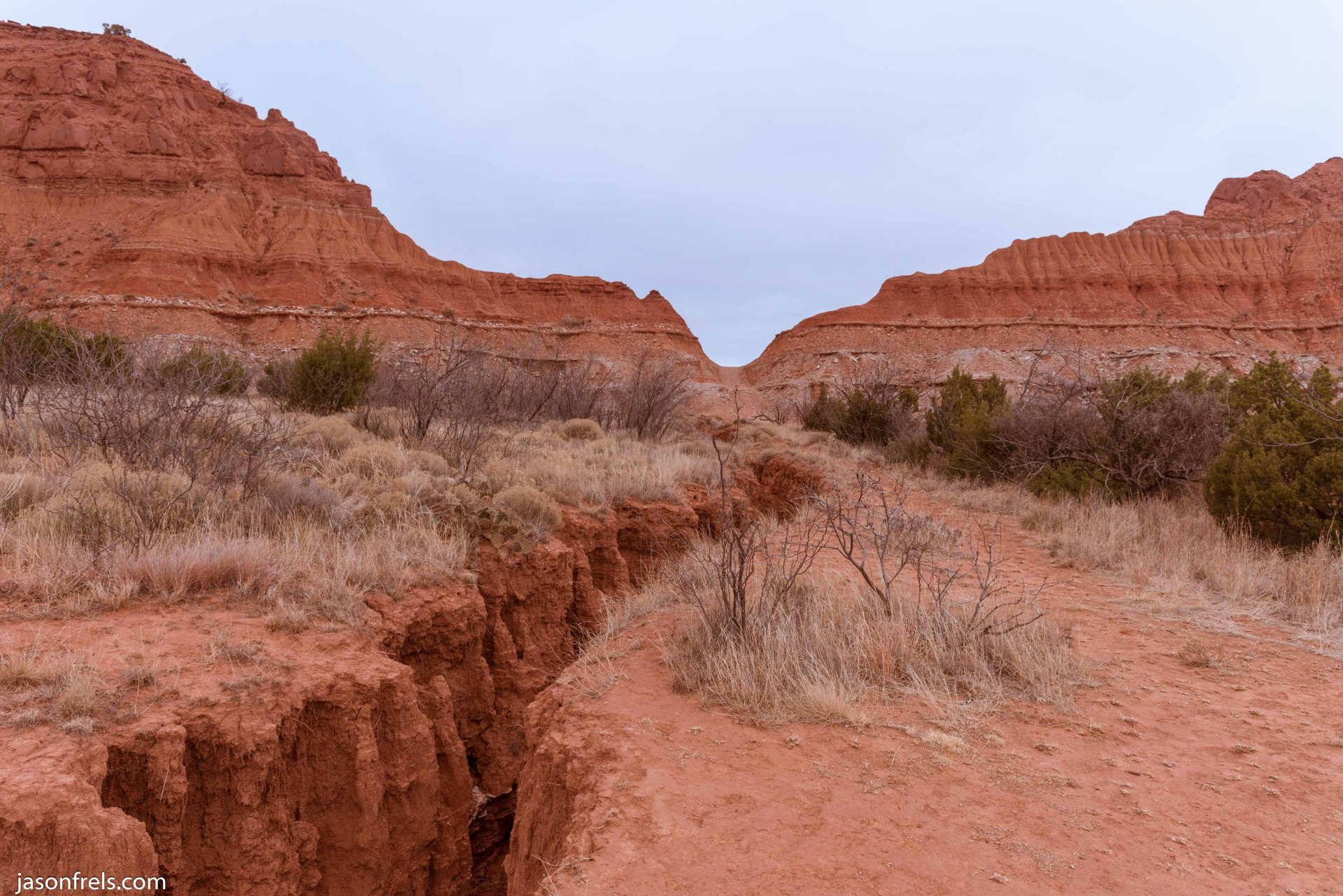 Caprock Canyons State Park Texas hiking trail