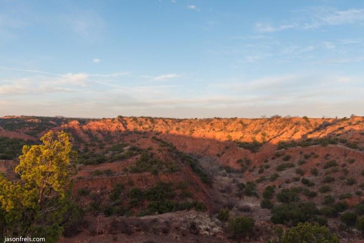 Caprock Canyons State Park Texas Sunrise