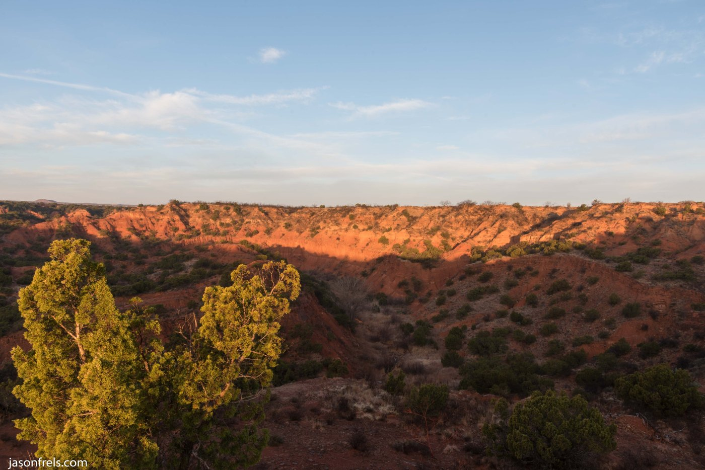 Caprock Canyons State Park Texas Sunrise Quitaque
