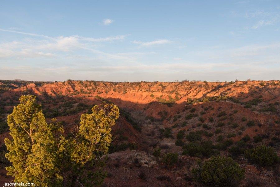 Caprock Canyons State Park Texas Sunrise Quitaque