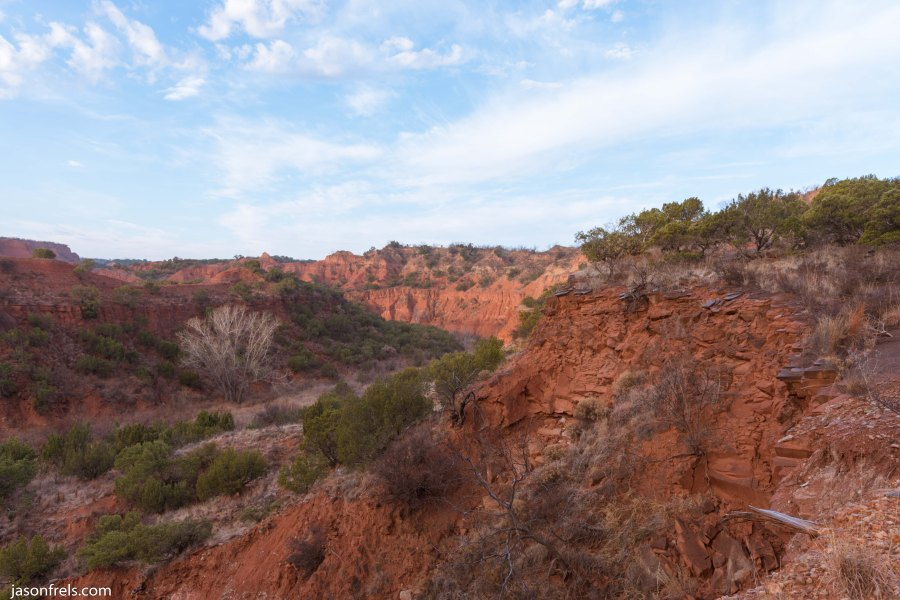 Caprock Canyons State Park Texas Sunrise Quitaque cliffs