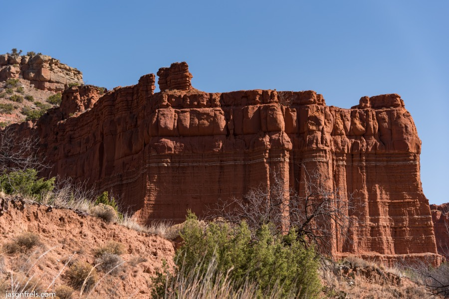 Caprock Canyons State Park Texas cliffs hiking west landscape arid