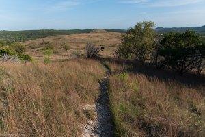 Balcones Canyonlands National Wildlife Refuge hiking trails at Doeskin Ranch