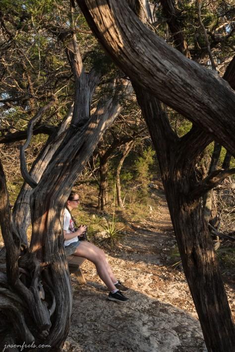 Balcones-Canyonlands-National-Wildlife-Refuge-daughter-hiking