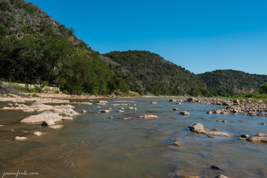 Colorado River in Texas