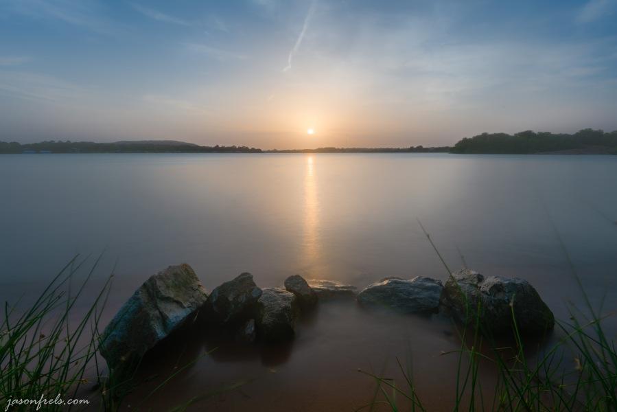 Long exposure HDR merge at Inks Lake State Park Texas