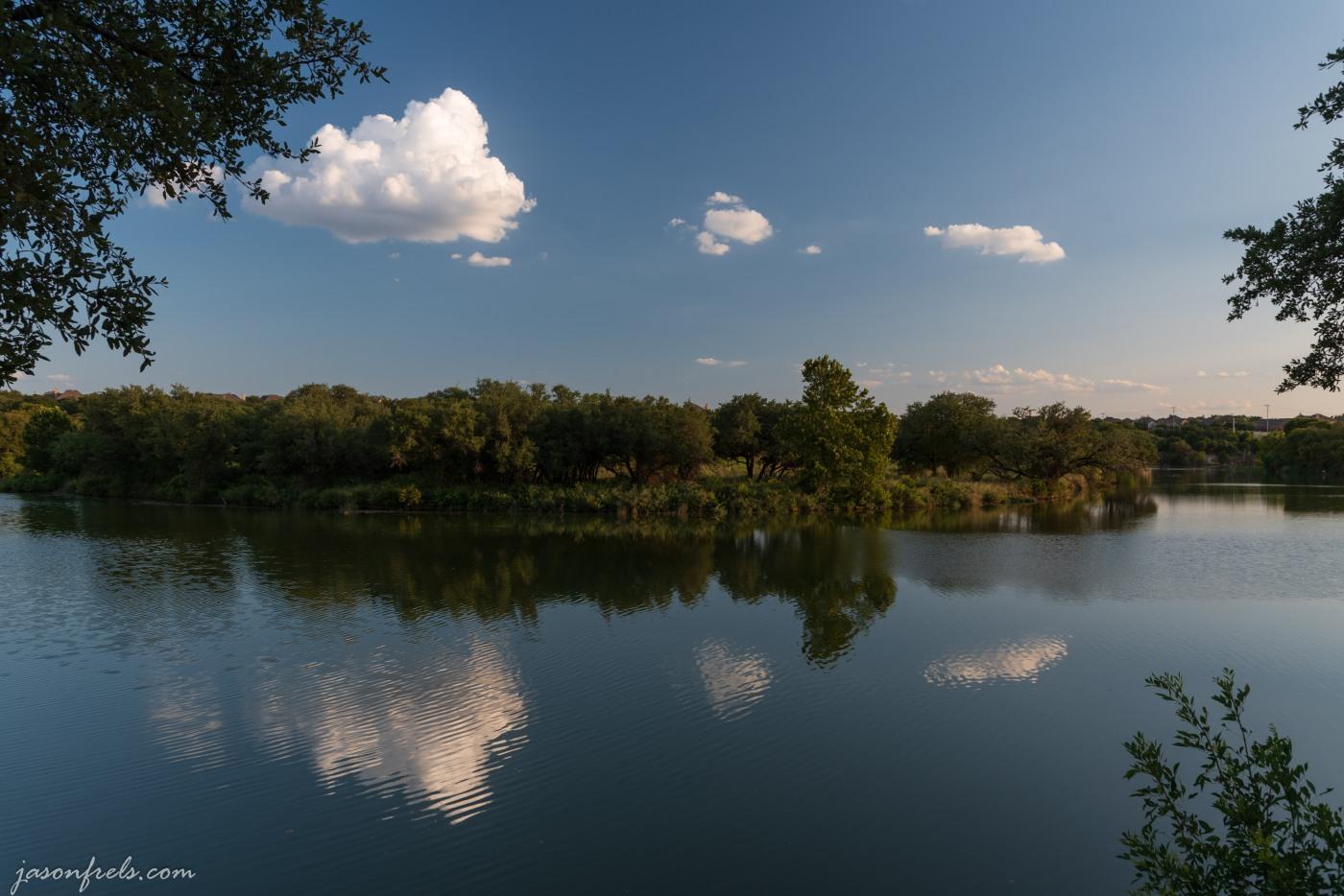 reflections at Brushy Creek Park