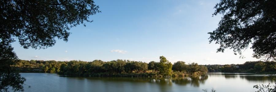 Long exposure of Brushy Creek