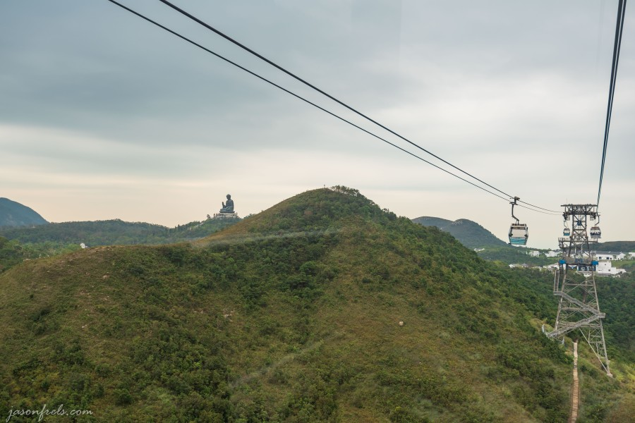 cable cars to big buddha