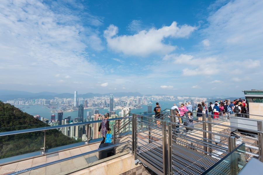 Hong-Kong-Victoria-Peak-Observation-Deck