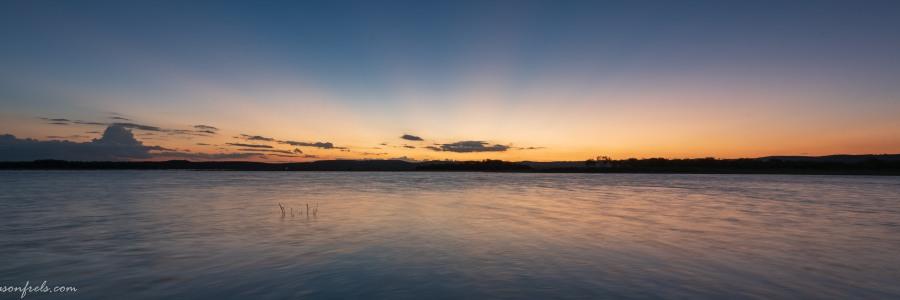 Sunset at Lake Buchanan Texas