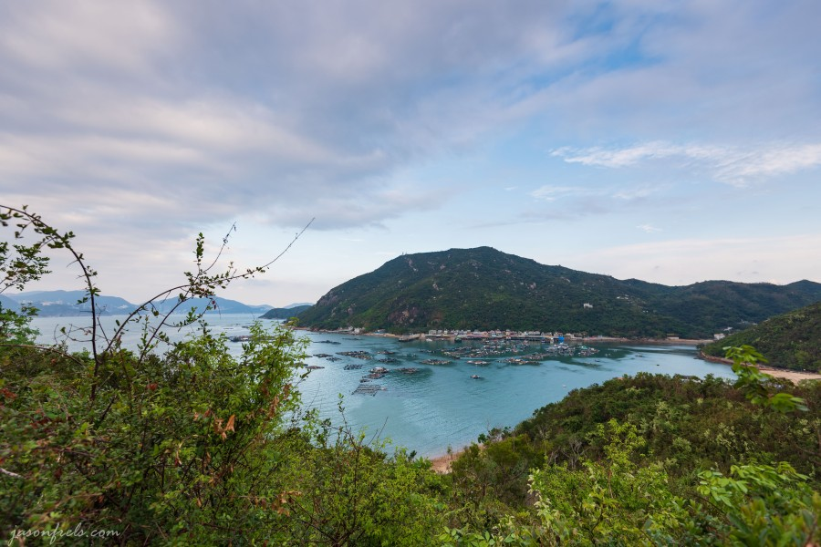 Pichic Bay on Lamma Island in Hong Kong