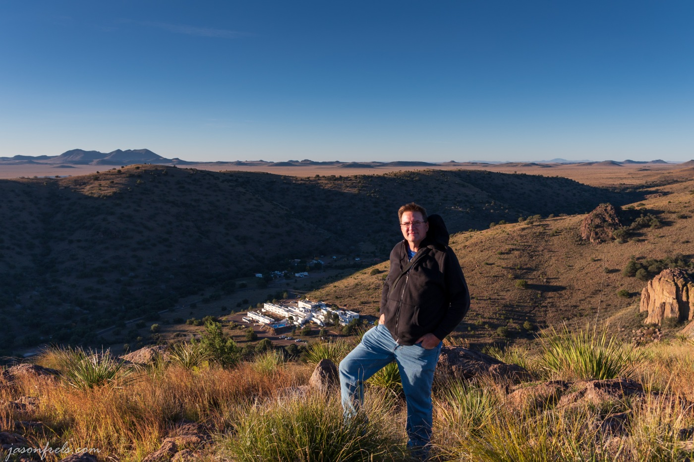 Jason Frels at Davis Mountains State Park Texas