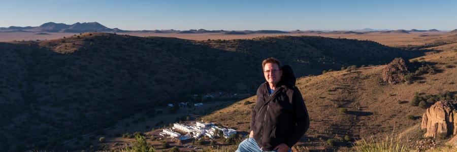 Jason Frels at Davis Mountains State Park Texas
