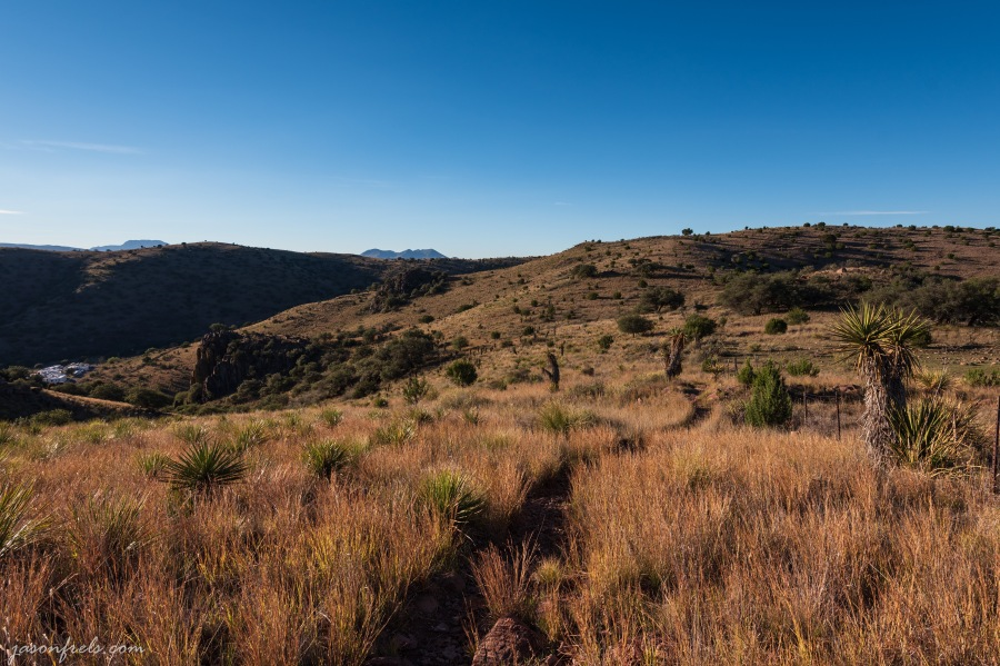 Indian Lodge and hiking trail at Davis Mountains State Park Texas