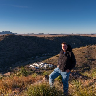 Me at Davis Mountains State Park