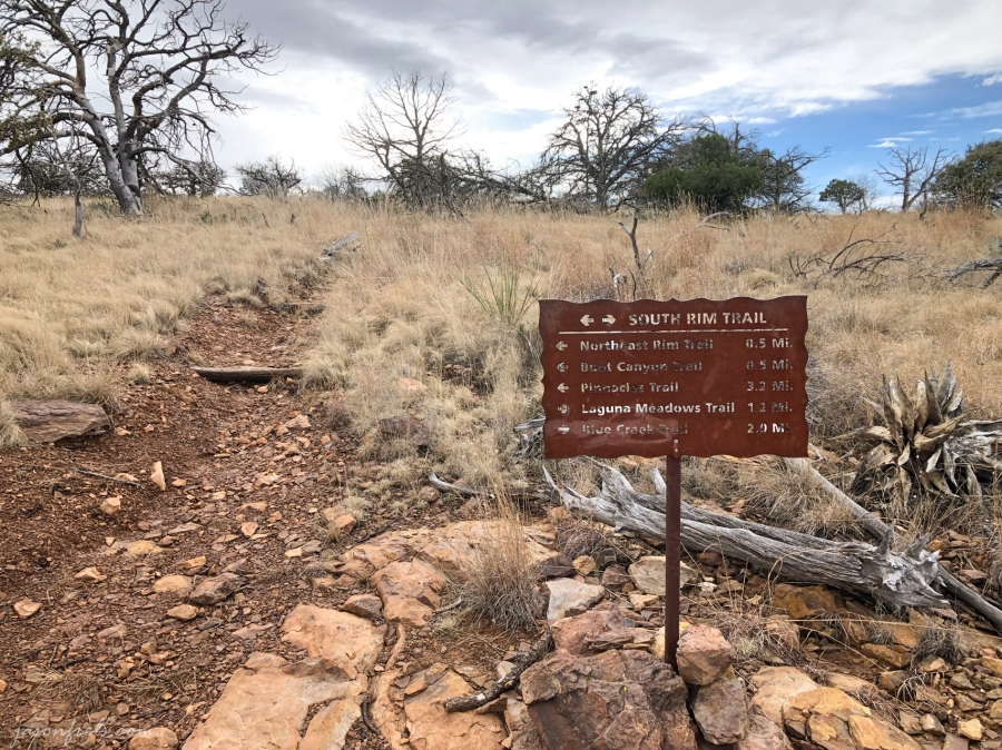 Big-Bend-Trail-Sign