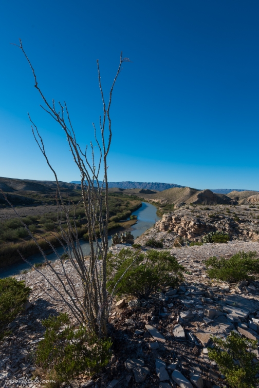 Hot Sping Hiking Trail in Big Bend National Park