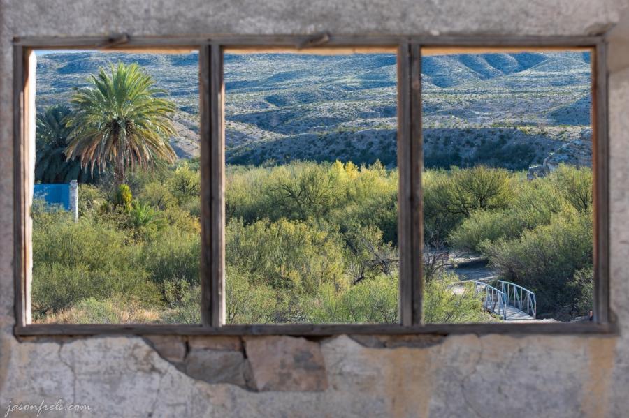 Abandoned Hot Spring resort at Big Bend National Park
