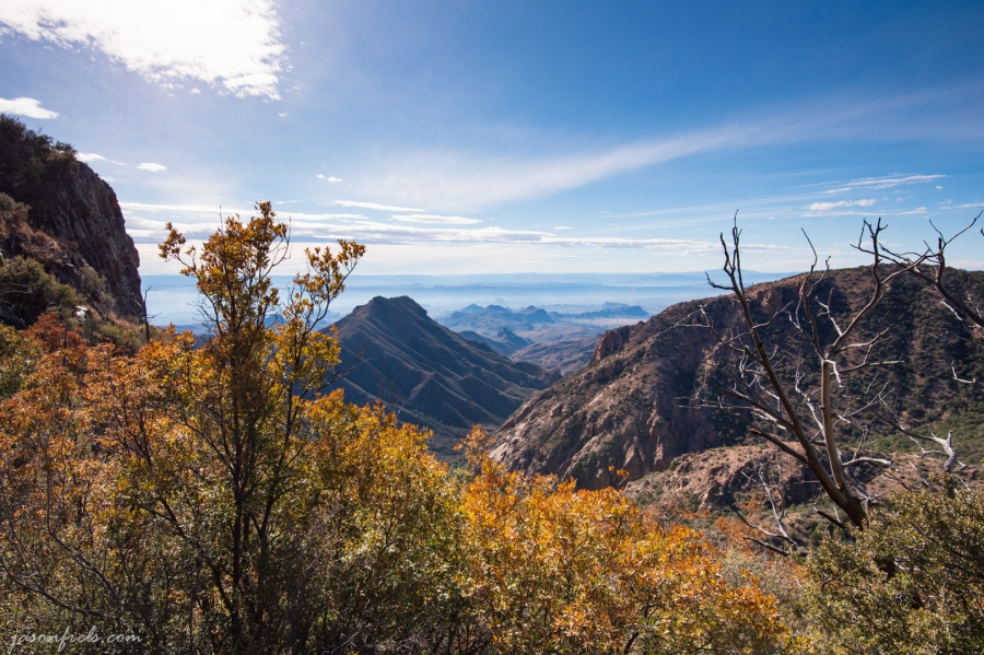 Hiking at Big Bend National Park in Texas
