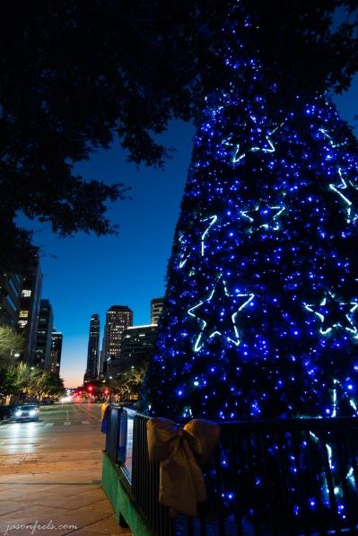 Texas Capitol Christmas Tree in Austin