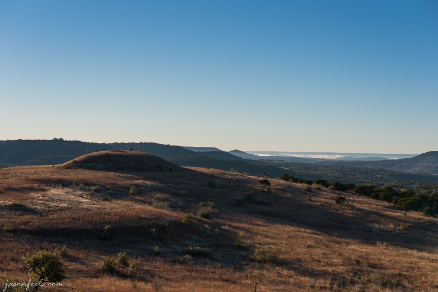 Hill in Balcones Canyonlands National Wildlife Refuge in Central Texas