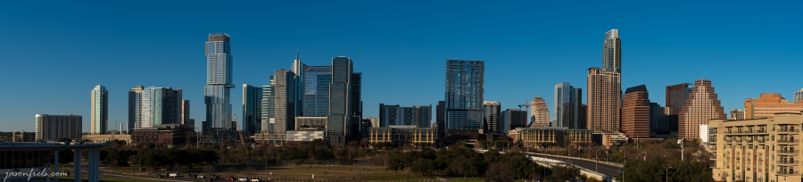Panorama of Downtown Austin Texas