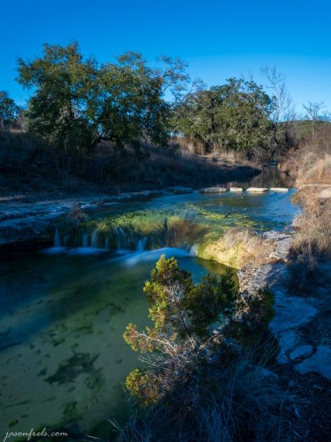 Long Exposure waterfall at Balcones Canyonland National Wildlife Refuge