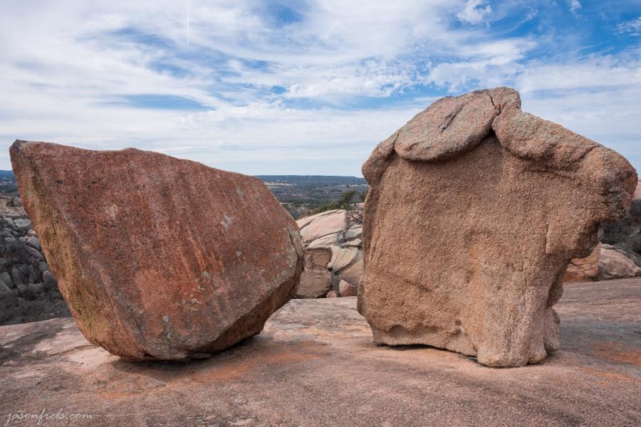 Boulders on Enchanted Rock