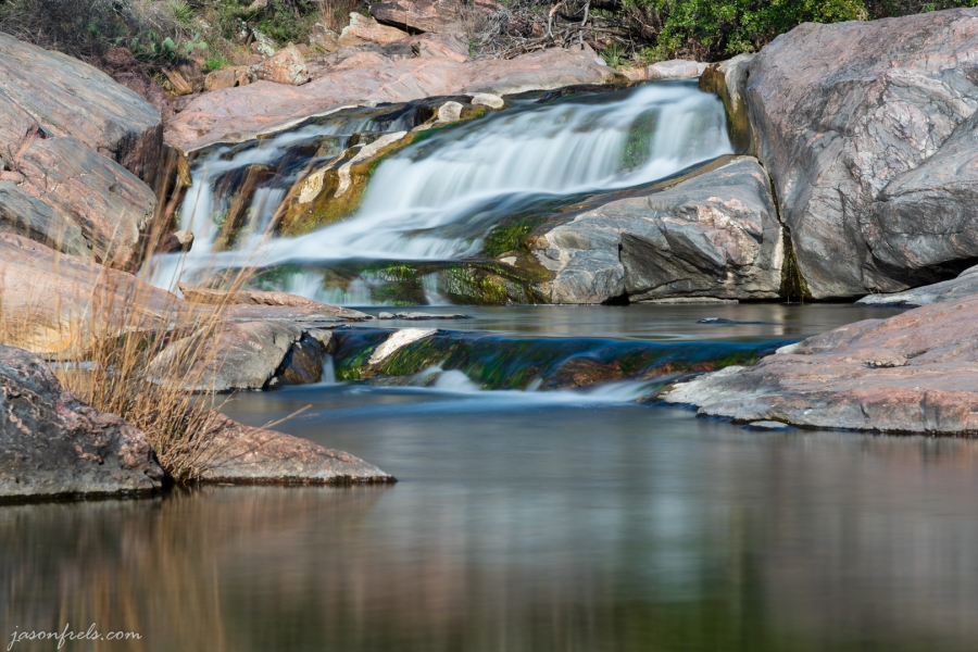 Waterfall at Inks Lake State Park Texas