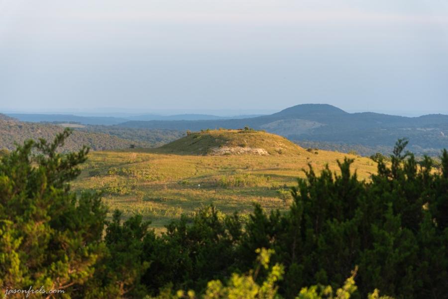 Hill at Balcones Canyonlands National Wildlife Refuge
