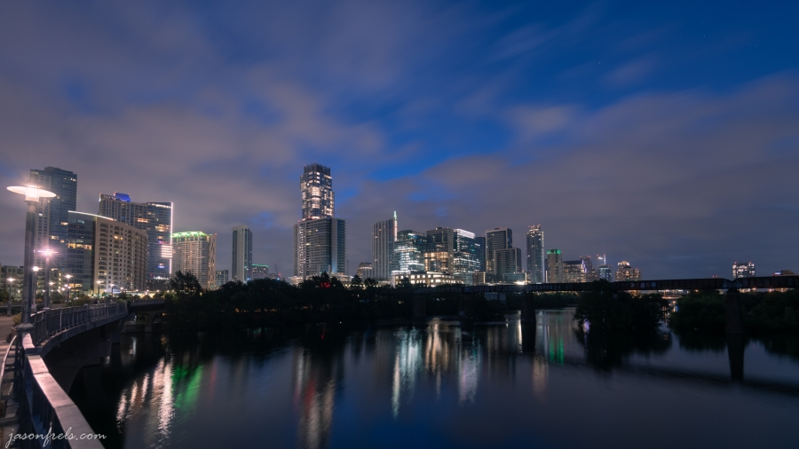 Austin Texas During Predawn Twilight