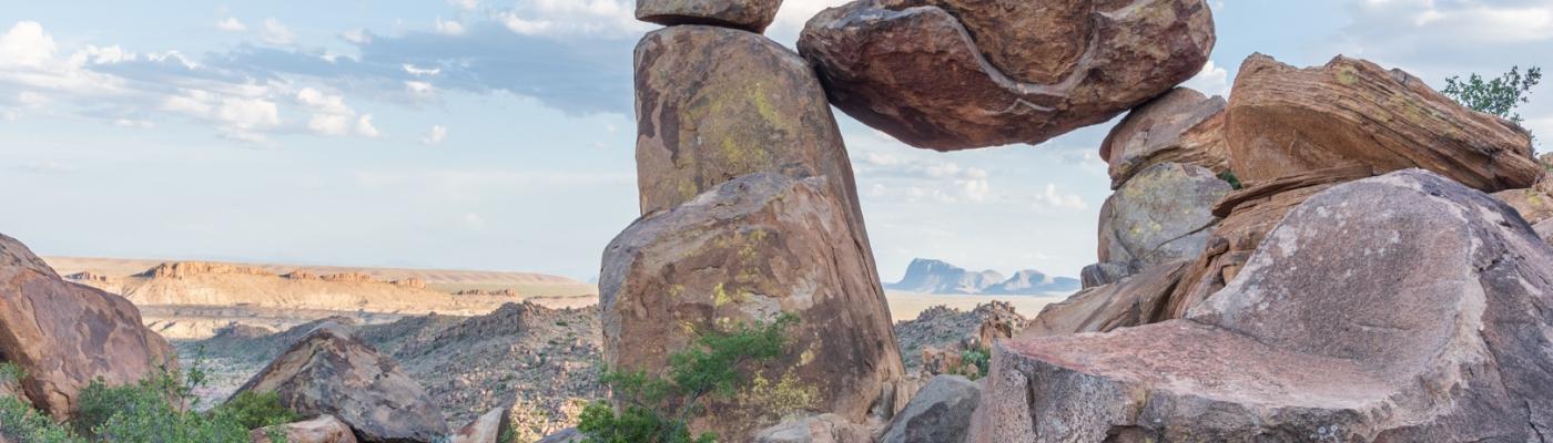 Balanced Rock at Big Bend National Park